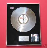 MICHAEL JACKSON - Bad PLATINUM LP presentation Disc